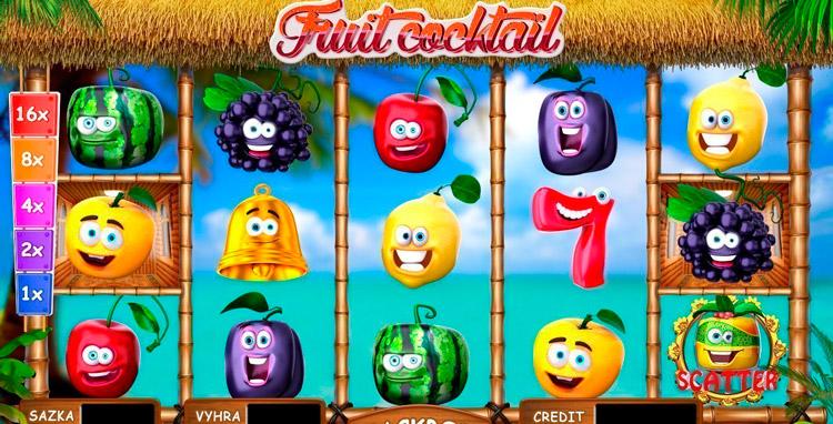 автомат фруктовый коктейль