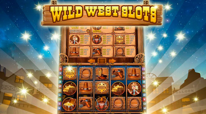 интерфейс автомата Wild Wild West